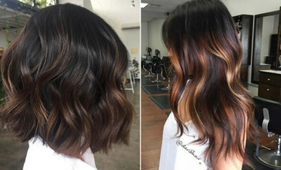 Different Ways to Rock Dark Brown Hair with Highlights