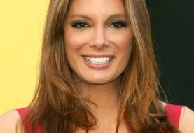 Alex Meneses Long Straight Formal    Hairstyle   -  Caramel Brunette Hair Color