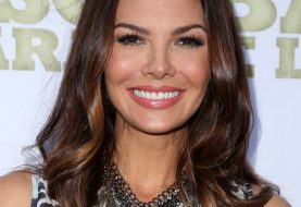 Ali Landry Long Wavy Casual    Hairstyle   - Dark Brunette Hair Color