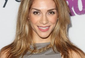 Allison Holker Long Straight Casual Hairstyle  - Dark Copper Blonde Hair Color with Light Blonde Highlights