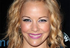 Amy Paffrath Medium Wavy Casual Hairstyle - Dark Copper Blonde Hair Color
