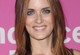 Anna Wood Long Straight Casual    Hairstyle   -  Auburn Brunette Hair Color