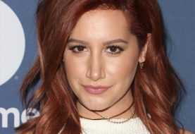 Ashley Tisdale Medium Wavy Casual    Hairstyle   - Dark Burgundy Red Hair Color