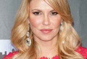 Brandi Glanville Long Wavy Formal    Hairstyle   -  Honey Blonde Hair Color