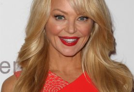 Charlotte Ross Long Straight Formal    Hairstyle   -  Honey Blonde Hair Color