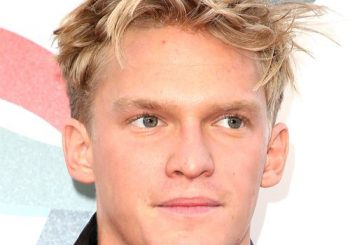 Cody Simpson Short Wavy Casual    Hairstyle   - Light Ash Blonde Hair Color