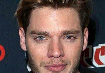 Dominic Sherwood Short Straight Casual    Hairstyle   - Light Brunette Hair Color