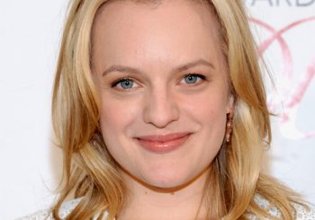 Elisabeth Moss Medium Straight Casual    Hairstyle   -  Golden Blonde Hair Color