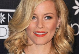 Elizabeth Banks Medium Wavy Formal    Hairstyle   - Dark Golden Blonde Hair Color