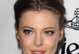 Gillian Jacobs Long Straight Casual   Updo Hairstyle   -  Chestnut Brunette Hair Color