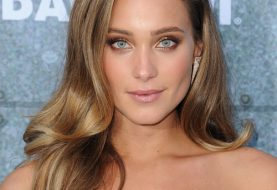 Hannah Davis Long Wavy Formal    Hairstyle   -  Chestnut Brunette Hair Color
