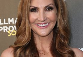 Heather McDonald Long Wavy Formal    Hairstyle   -  Brunette Hair Color