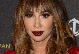 Jackie Cruz Long Straight Casual    Hairstyle with Layered Bangs