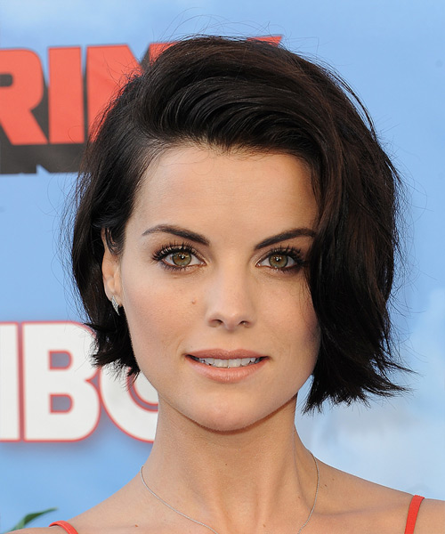 Jaimie Alexander Short Straight Casual  Hairstyle   – Dark Brunette Hair Color