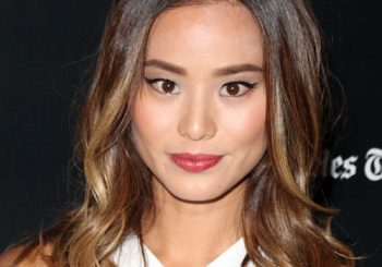 Jamie Chung Long Wavy Casual Hairstyle