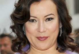 Jennifer Tilly Medium Wavy Formal    Hairstyle   - Mocha Hair Color