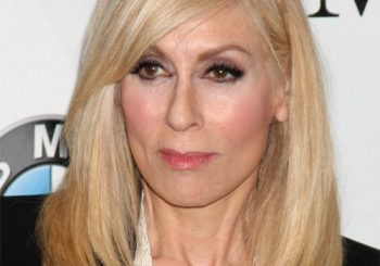 Judith Light Long Straight Formal    Hairstyle   -  Blonde Hair Color
