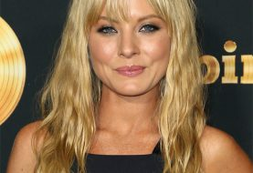 Kaitlin Doubleday Long Straight Casual    Hairstyle with Layered Bangs  -  Blonde Hair Color