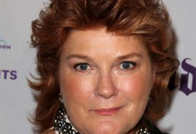 Kate Mulgrew Short Straight Casual    Hairstyle   -  Mahogany Red Hair Color
