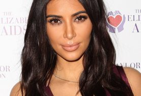 Kim Kardashian Long Straight Casual    Hairstyle   - Dark Chocolate Brunette Hair Color
