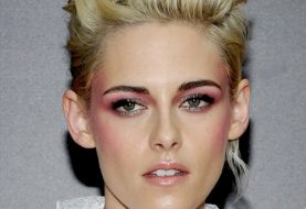 Kristen Stewart Short Wavy Formal    Hairstyle   - Light Blonde Hair Color