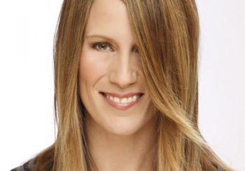 Long Straight Casual    Hairstyle   - Light Caramel Brunette Hair Color with Light Blonde Highlights