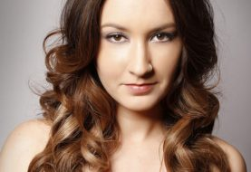 Long Wavy Formal    Hairstyle  -  Chocolate Brunette and Light Brunette Two-Tone Hair Color
