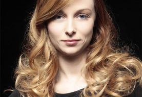 Long Wavy Formal    Hairstyle   - Light Caramel Brunette and Light Blonde Two-Tone Hair Color