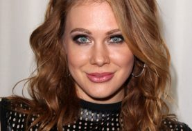 Maitland Ward Long Wavy Casual    Hairstyle   -  Auburn Brunette Hair Color