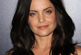 Mena Suvari Long Wavy Casual    Hairstyle   - Dark Mocha Brunette Hair Color