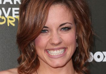 Molly Burnett Medium Straight Casual Hairstyle   -  Red Hair Color