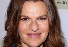Sandra Bernhard Medium Wavy Casual  Hairstyle   -  Chocolate Brunette Hair Color