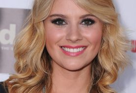 Sarah Hester Long Wavy Casual    Hairstyle   -  Copper Blonde Hair Color with Light Blonde Highlights