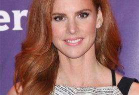 Sarah Rafferty Long Wavy Formal    Hairstyle   -  Ginger Red Hair Color