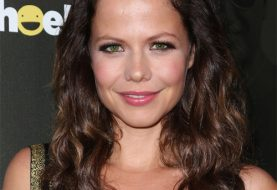Tammin Sursok Long Wavy Casual    Hairstyle   - Dark Mocha Brunette Hair Color